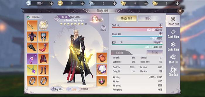 Perfect World VNG: Thần Khí - báu vật đột phá sức mạnh 1