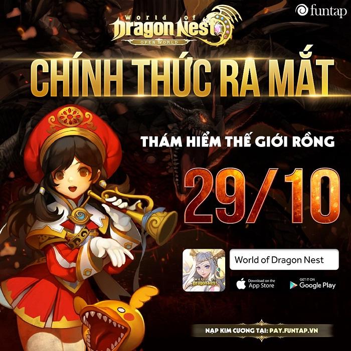 Những sự kiện song hành cùng màn ra mắt bùng nổ của World of Dragon Nest Việt Nam 0