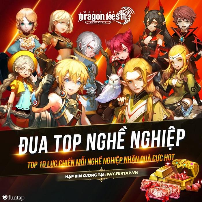 Những sự kiện song hành cùng màn ra mắt bùng nổ của World of Dragon Nest Việt Nam 1