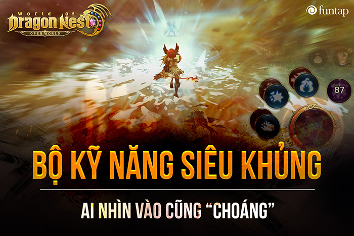 Cơ chế chiến đấu linh động là điểm mạnh nhất của World of Dragon Nest 3