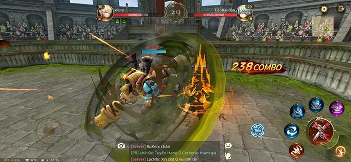 Cơ chế chiến đấu linh động là điểm mạnh nhất của World of Dragon Nest 4