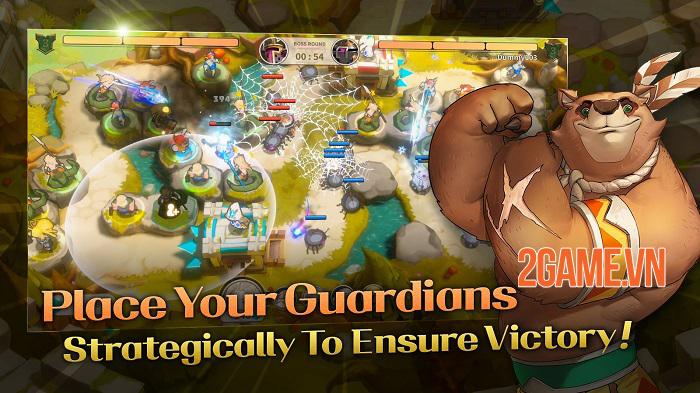 Game thủ tháp từ Line Games Guardian Chronicle đã mở đăng ký trước 1