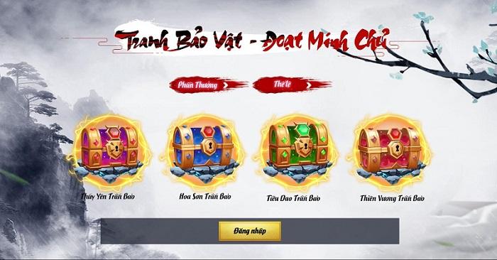 Võ Lâm Trấn Bảo tặng 200 giftcode mừng Alpha Test 2