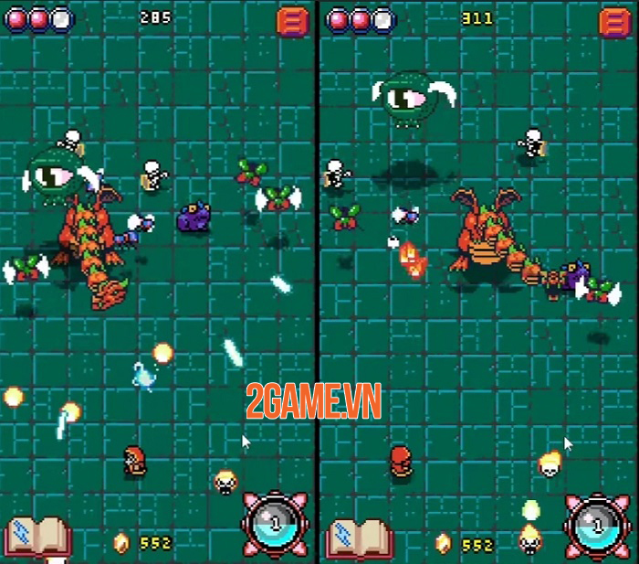 Wyrms And Wizards - Game roguelike shmup bối cảnh giả tưởng ra mắt cho Android 2