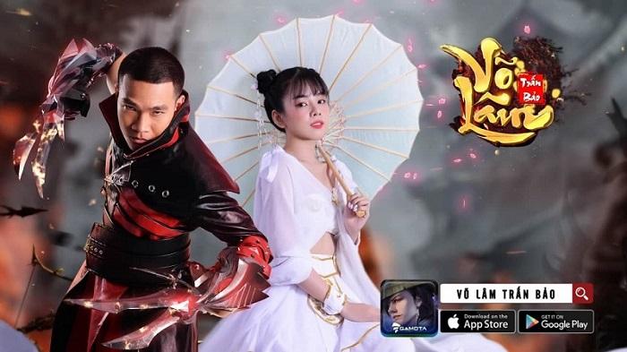 HLV Wowy và DJ Mie của Rap Việt trở thành gương mặt đại diện Võ Lâm Trấn Bảo 1