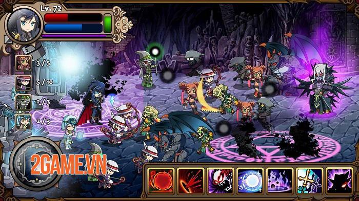 Vampire Slasher Hero - Thỏa sức sáng tạo kĩ năng cho dàn anh hùng độc đáo 2