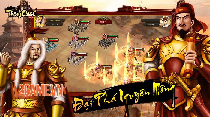 Thành Chiến Mobile - Game sử Việt xuyên không do người Việt sản xuất ra mắt trong năm nay 2