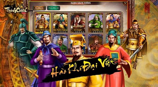 Thành Chiến Mobile – Game sử Việt xuyên không do người Việt sản xuất ra mắt trong năm nay