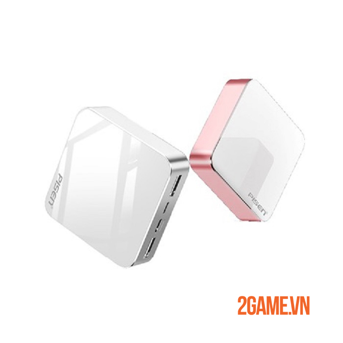 PISEN Mini Mirror 10000mAh –  Sạc dự phòng siêu nhỏ gọn, cá tính cho phái nữ 0