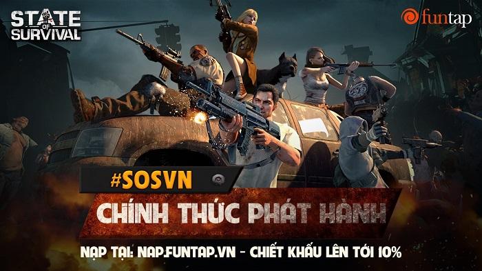 Game thủ Việt háo hức đăng kí sớm khóa học sinh tồn thảm họa zombie State of Survival 0
