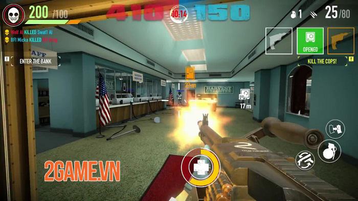 Hãng game Starbreeze có ý định khởi chạy lại Payday: Crime War 1