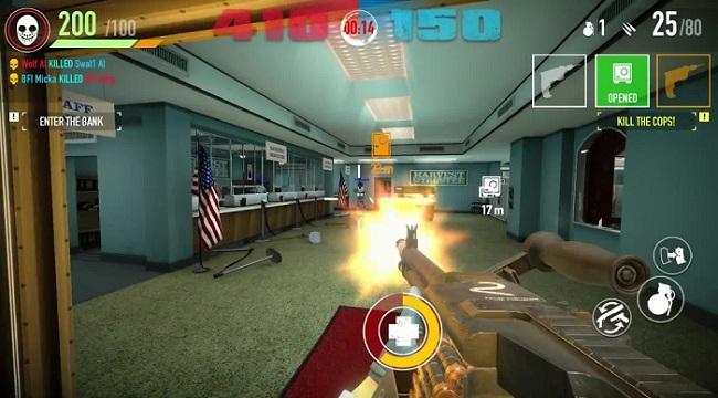 Hãng game Starbreeze có ý định khởi chạy lại Payday: Crime War