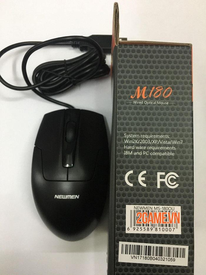 Newmen M180 - Mẫu chuột giá rẻ nhưng trải nghiệm tuyệt vời 3