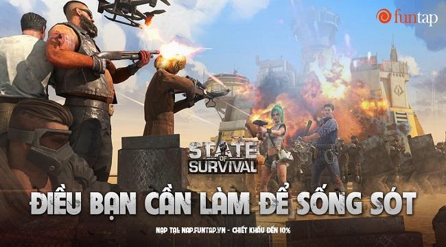 Mẹo hay giúp game thủ State of Survival dễ thở trong cuộc chiến sinh tồn
