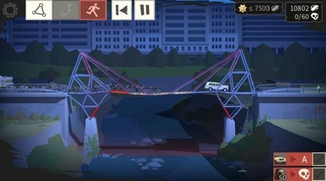 Bridge Constructor: The Walking Dead – Cuộc đào thoát khỏi đám zombie đầy kịch tính
