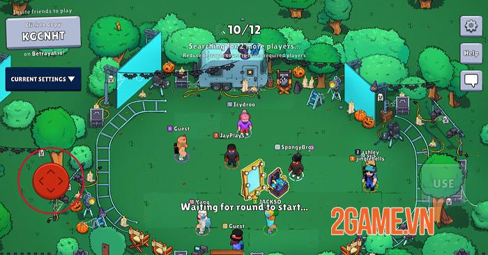 Betrayal.io - Tựa game được thiết kế theo phong cách trốn tìm của Among Us 1