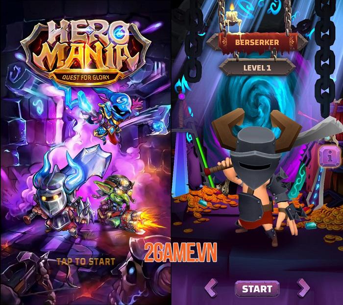 Heromania - Game nhập vai phiêu lưu hành động chiến đấu vô tận 0