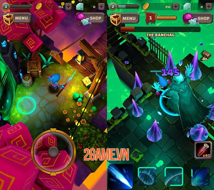 Heromania - Game nhập vai phiêu lưu hành động chiến đấu vô tận 1