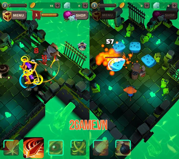 Heromania - Game nhập vai phiêu lưu hành động chiến đấu vô tận 2