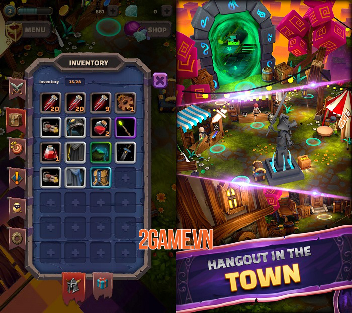 Heromania - Game nhập vai phiêu lưu hành động chiến đấu vô tận 3