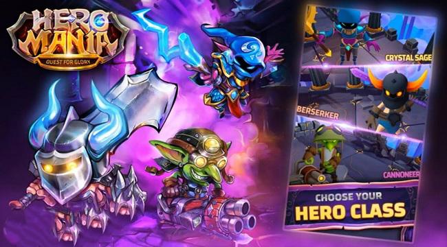 Heromania – Game nhập vai phiêu lưu hành động chiến đấu vô tận