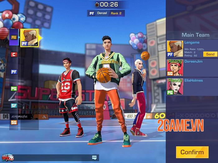 Basketrio - Game bóng rổ thách thức cả kĩ năng và trí tưởng tượng 0