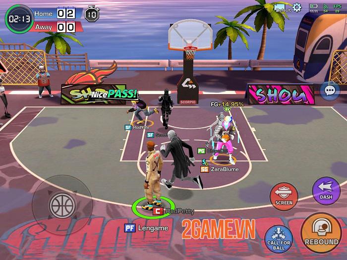 Basketrio - Game bóng rổ thách thức cả kĩ năng và trí tưởng tượng 1