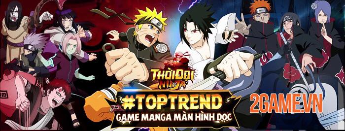 Thời Đại Ninja - Game manga màn hình dọc chuẩn nguyên tác Naruto 4