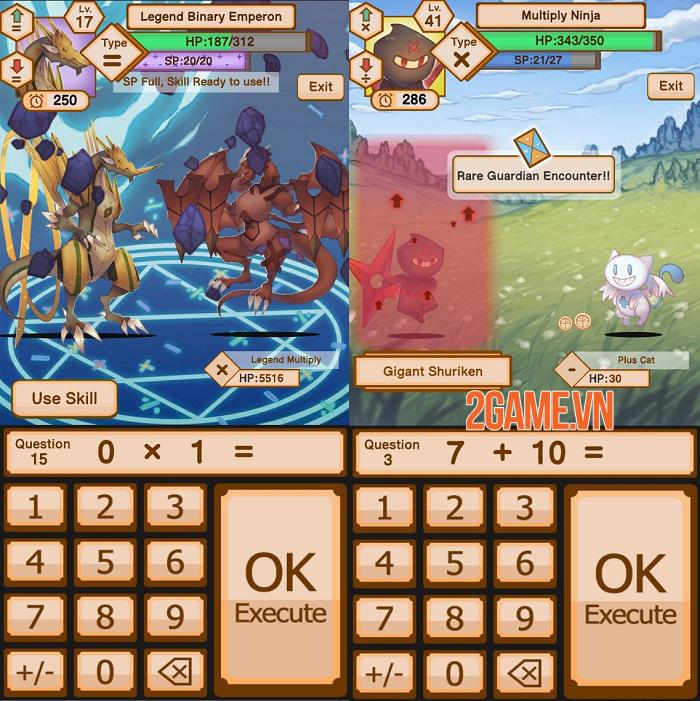 Tales of Phi - Game nhập vai chiến đấu bằng cách trả lời lệnh toán học độc đáo 3