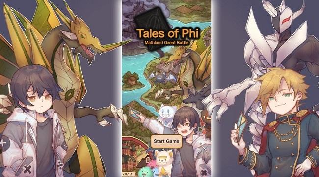 Tales of Phi – Game nhập vai chiến đấu bằng cách trả lời lệnh toán học độc đáo