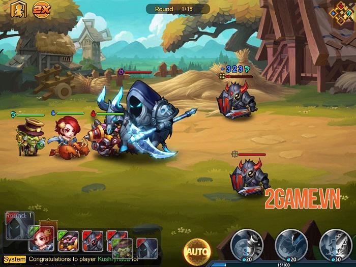 The Hero Trace - Khám phá vùng đất phép thuật rộng lớn và bí ẩn 2