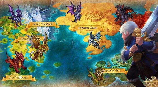 The Hero Trace – Khám phá vùng đất phép thuật rộng lớn và bí ẩn