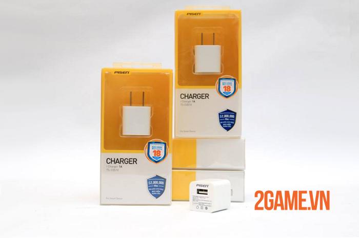Củ sạc PISEN i Charger 1A - Sự thay thế hoàn hảo cho sạc chính hãng iphone 0