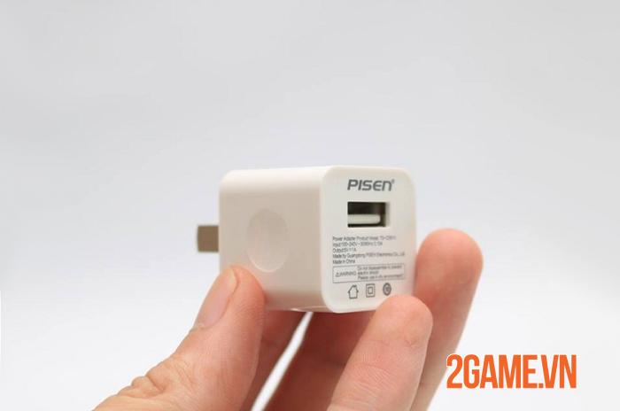 Củ sạc PISEN i Charger 1A - Sự thay thế hoàn hảo cho sạc chính hãng iphone 2