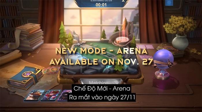 Mobile Legends: Bang Bang VNG ra mắt chế độ chơi mới Arena 0