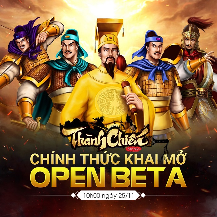 Game dã sử Việt Thành Chiến Mobile chính thức Open Beta hôm nay 4