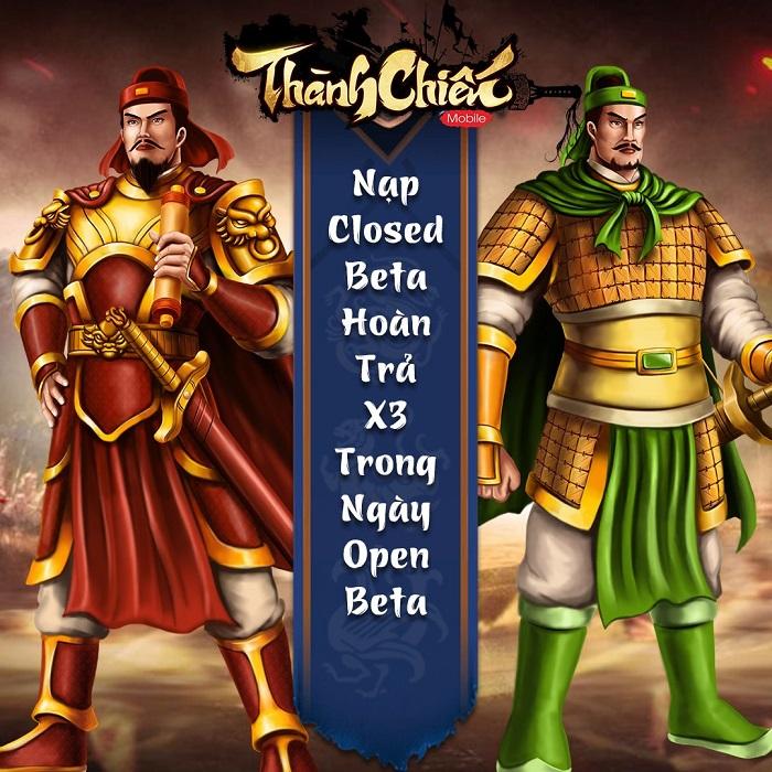 Game dã sử Việt Thành Chiến Mobile chính thức Open Beta hôm nay 5