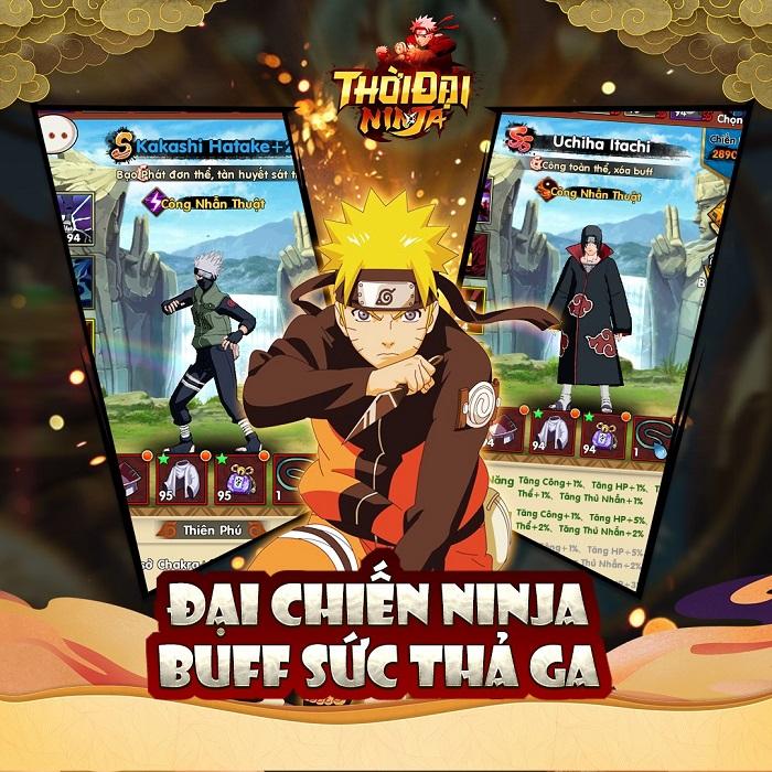 Thời Đại Ninja - Tựa game lấy cảm hứng từ Naruto nhưng đặc biệt hơn sắp ra mắt 1