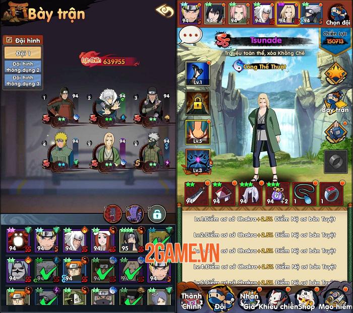 Thời Đại Ninja - Tựa game lấy cảm hứng từ Naruto nhưng đặc biệt hơn sắp ra mắt 4