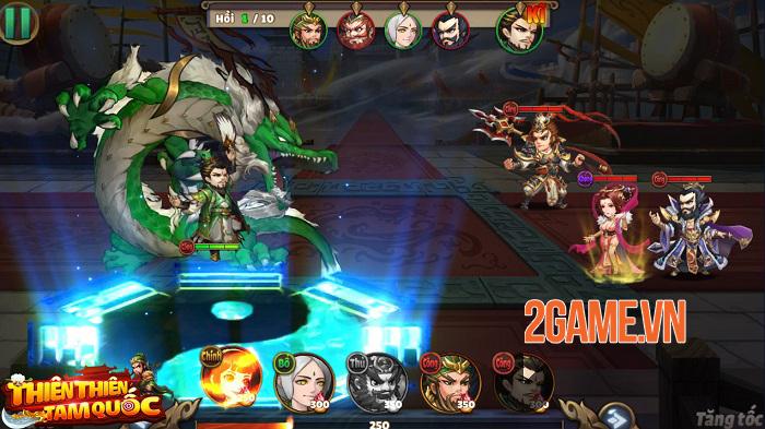 Thiên Thiên Tam Quốc - Game thẻ tướng Tam Quốc có đồ họa được thiết kế độc quyền 0