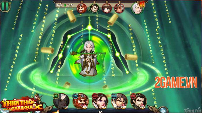 Thiên Thiên Tam Quốc - Game thẻ tướng Tam Quốc có đồ họa được thiết kế độc quyền 4