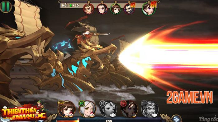 Thiên Thiên Tam Quốc - Game thẻ tướng Tam Quốc có đồ họa được thiết kế độc quyền 2