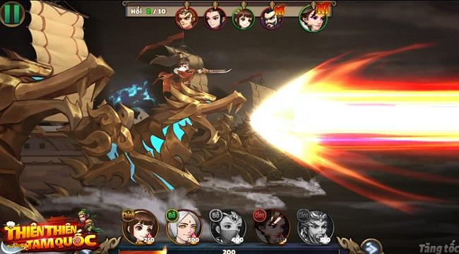 Thiên Thiên Tam Quốc – Game thẻ tướng Tam Quốc có đồ họa được thiết kế độc quyền