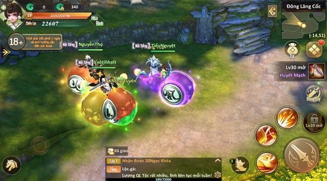 Tiên Hiệp Tiền Truyện Mobile ra mắt server mới phục vụ cộng đồng game thủ