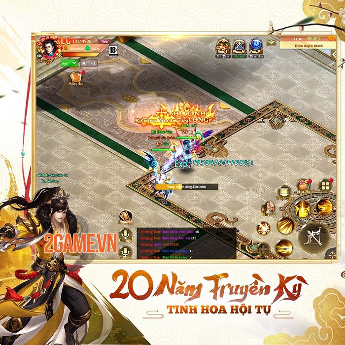 Phong Vân Chí VTC - Game cày cuốc rớt đồ đầy đất cập bến game Việt 0