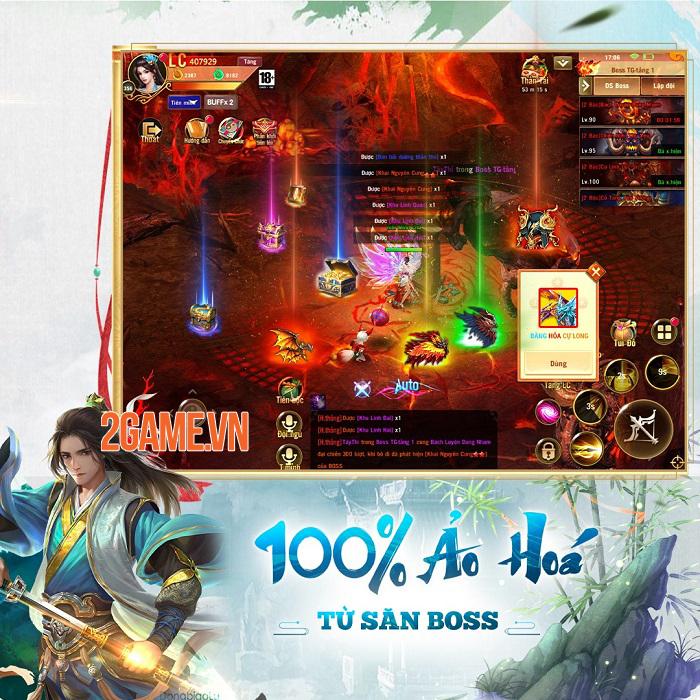 Phong Vân Chí VTC - Game cày cuốc rớt đồ đầy đất cập bến game Việt 2