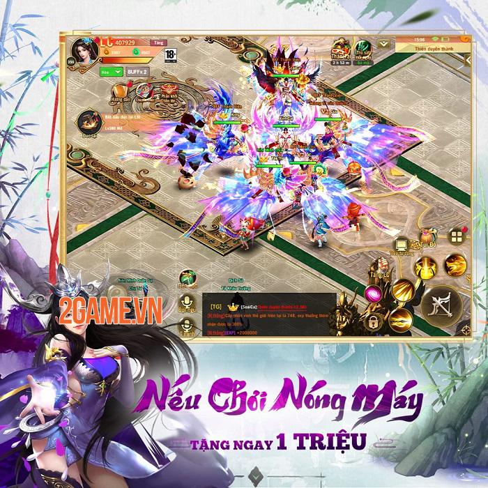 Phong Vân Chí VTC - Game cày cuốc rớt đồ đầy đất cập bến game Việt 4