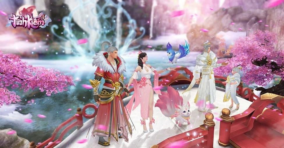 Game thủ Tình Kiếm 3D kết hôn cả trong game lẫn đời thực