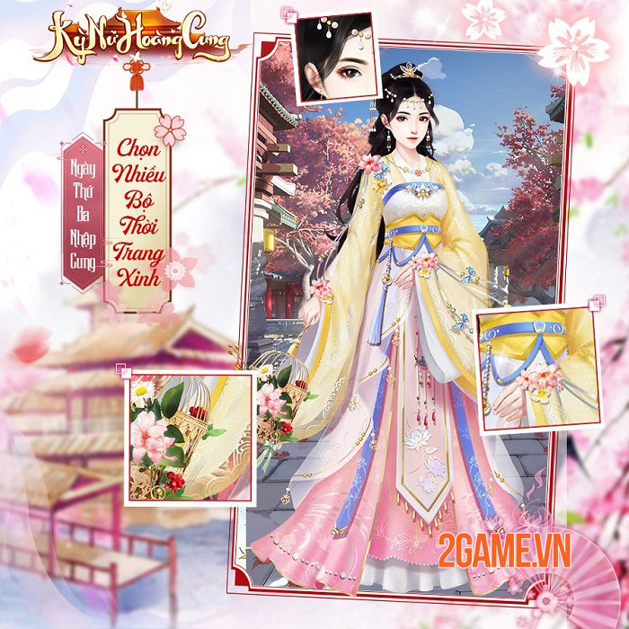 Kỳ Nữ Hoàng Cung Funtap - Game ngôn tình cung đấu do mình làm chủ sắp ra mắt 5