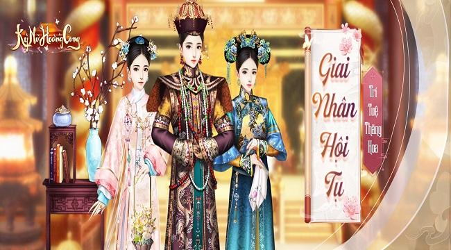 Kỳ Nữ Hoàng Cung Funtap – Game ngôn tình cung đấu do mình làm chủ sắp ra mắt